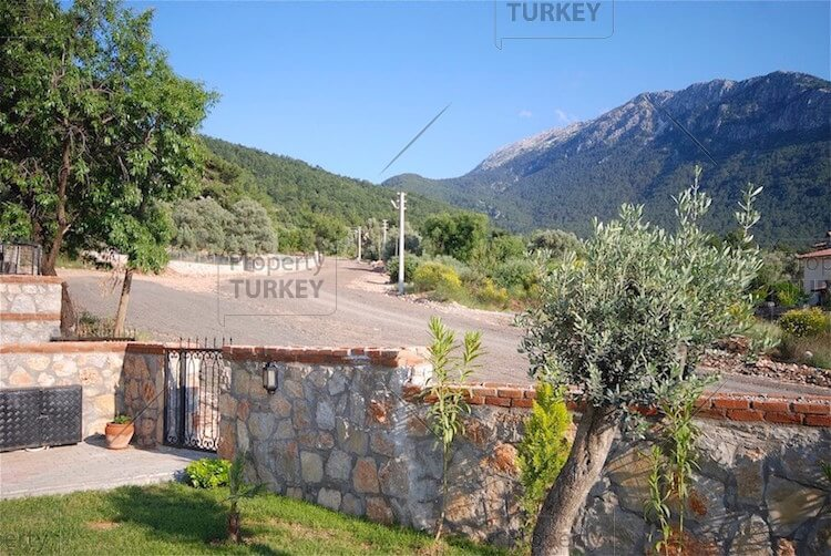 Stylish mountain view home in Ovacik Fethiye