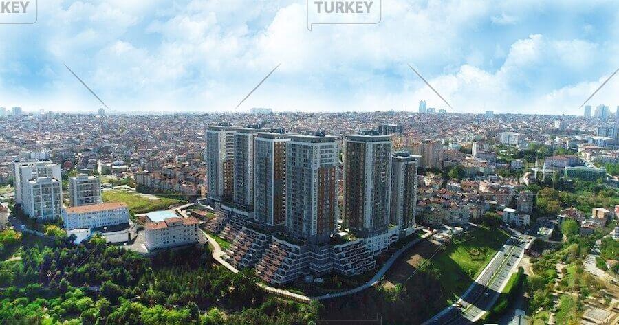 Urban regeneration apartments close to Istanbul centre