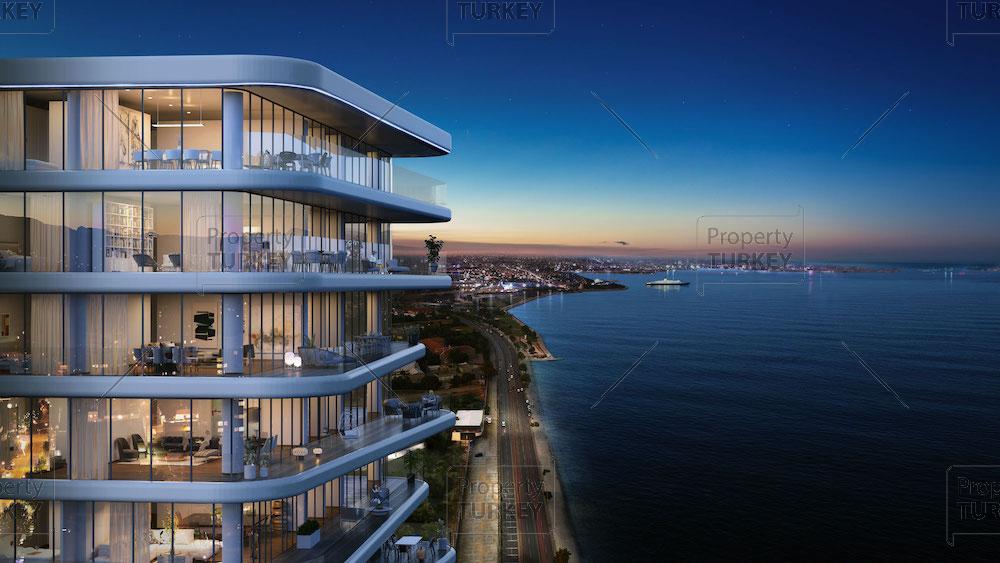 Extraordinary sea view apartments in Zeytinburnu
