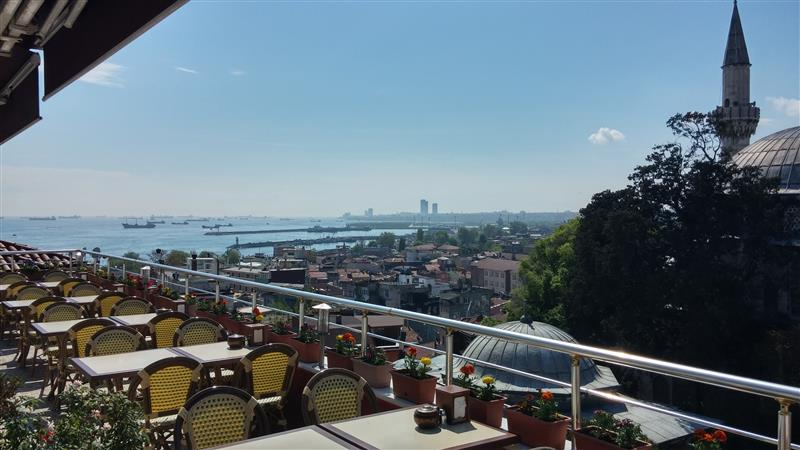 Boutique Golden Horn sea view hotel in Sultanahmet