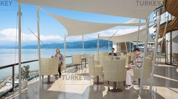 Fantastic sea view Trabzon apartments for investment