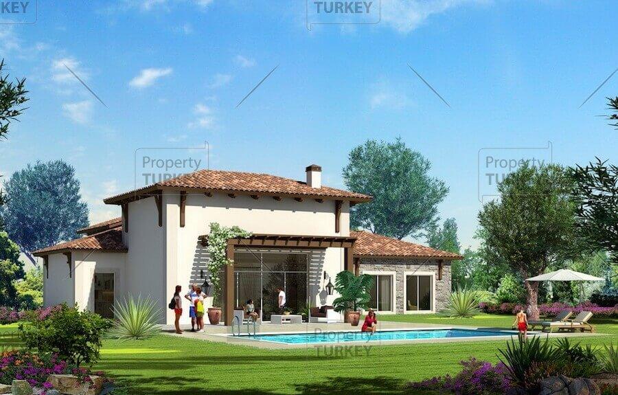 Tuscan Designer Villas near Buyukcekmece Valley Istanbul