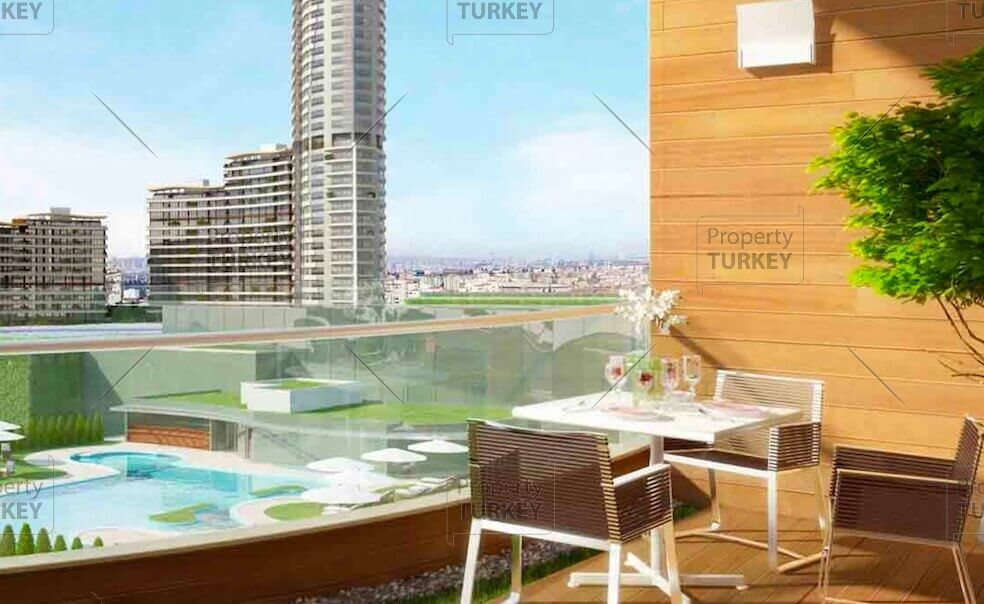 Specially designed apartment in Anatolian Istanbul