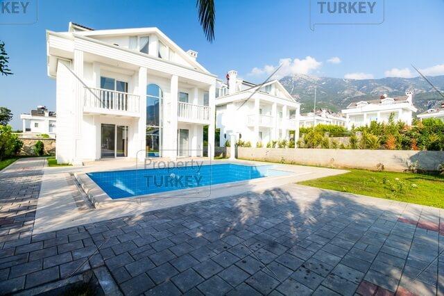 Contemporary villa for family living in Hisaronu Centre
