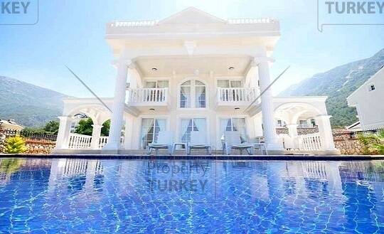 Villa near Fethiye Blue Lagoon with idyllic views