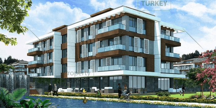Modern Yalova residences with hotel facilities