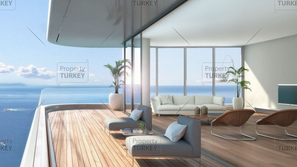 Extraordinary sea view apartments in Zeytinburnu