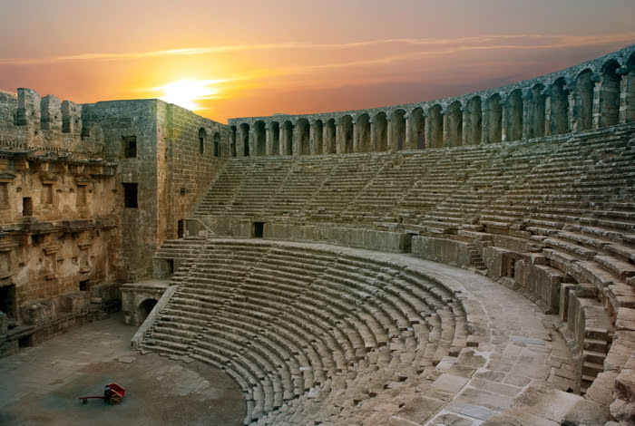 Aspendos theatre, Turkey
