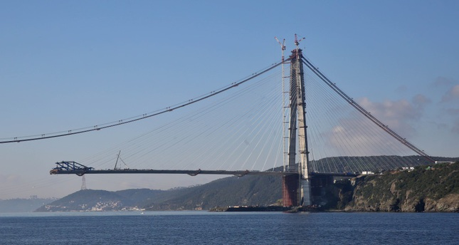 Yavuz Sultan Selim Bridge was completed in record time