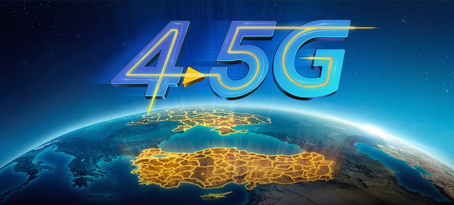4.5G in Turkey