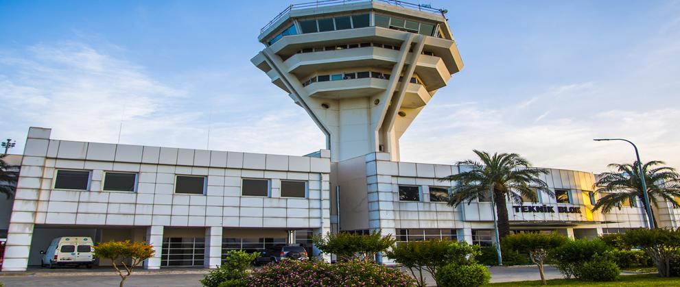 安塔利亚的机场