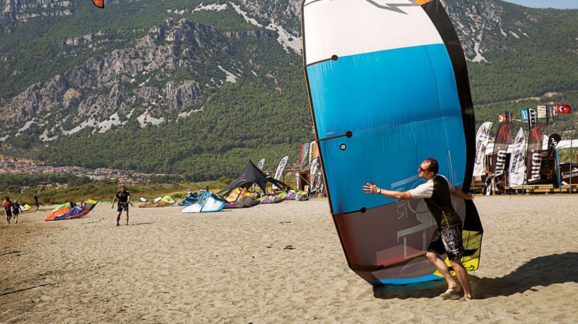 Akcapinar beach in Turkey
