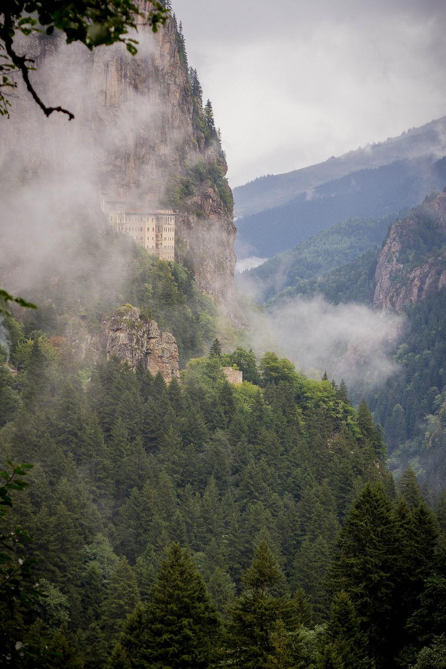 Anatolian mountains Sumela monastery