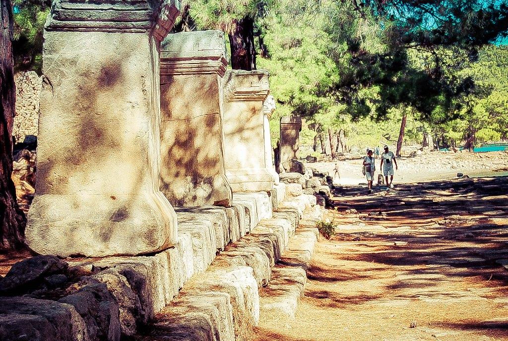 法塞利斯的古代遗迹
