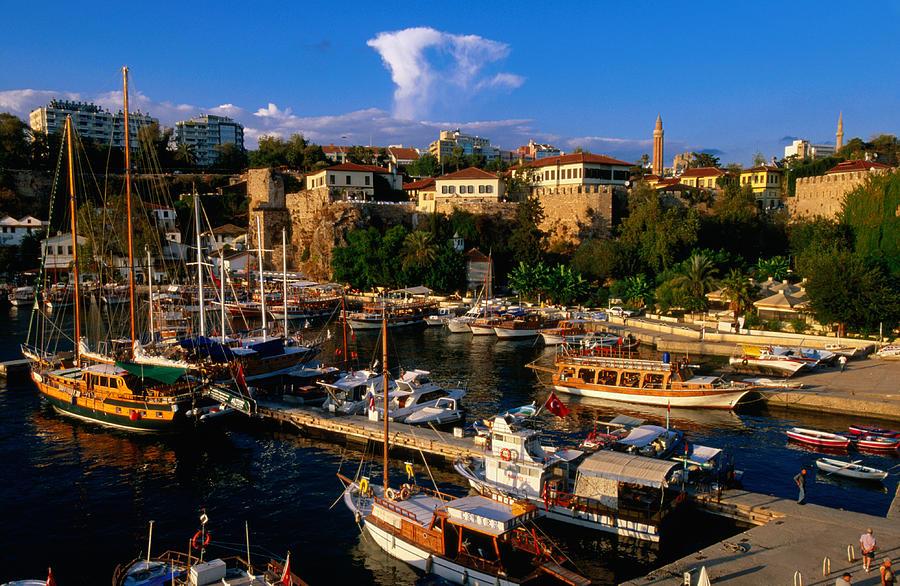 Image result for old harbour in antalya