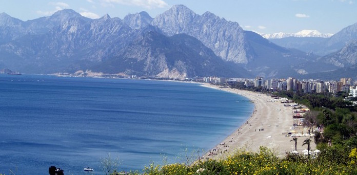 Beaches in Antalya
