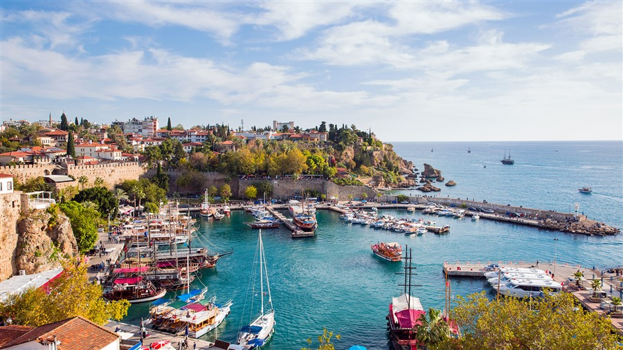 Antalya city centre