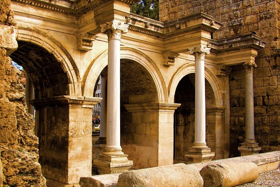 History in Antalya