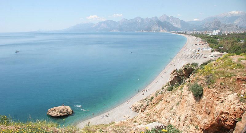 安塔利亚海滩