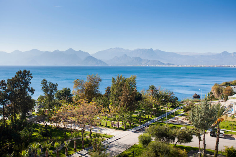 Antalya Beach, Turkey