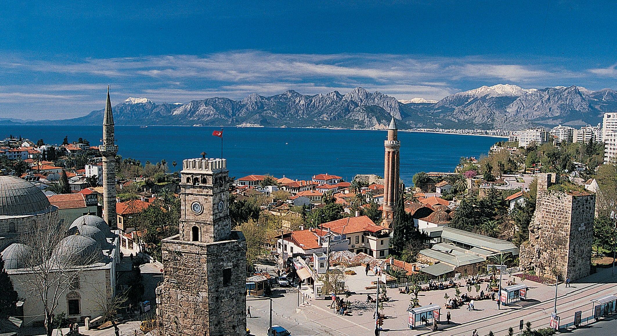 old town Antalya