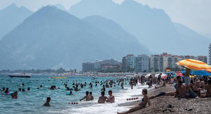 Antalya is now a Top Ten tourist destination for Germans