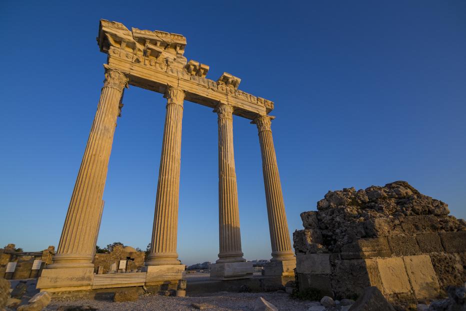 Apollo Temple Side