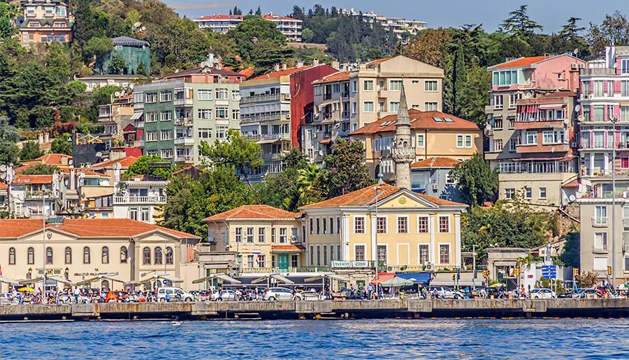Arnavutkoy houses Istanbul