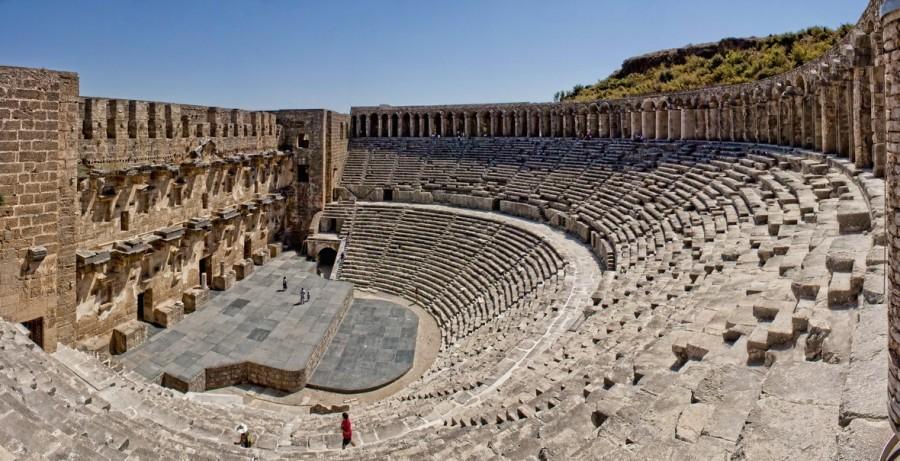 Aspendos Theatre, Antalya