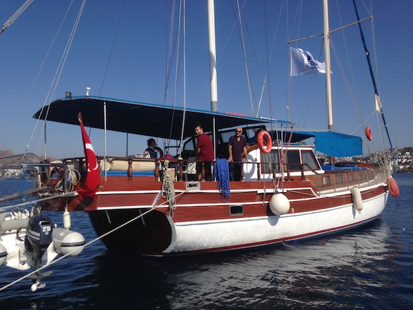 The Bodrum Cup tour boat