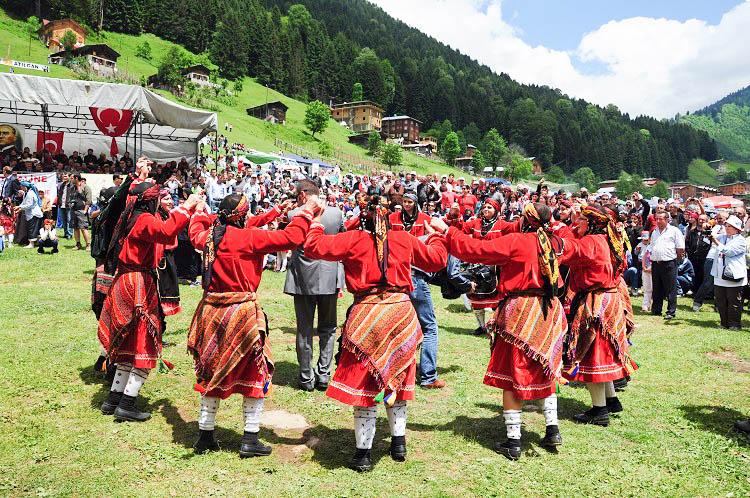 Ayder Plateau festival Turkey