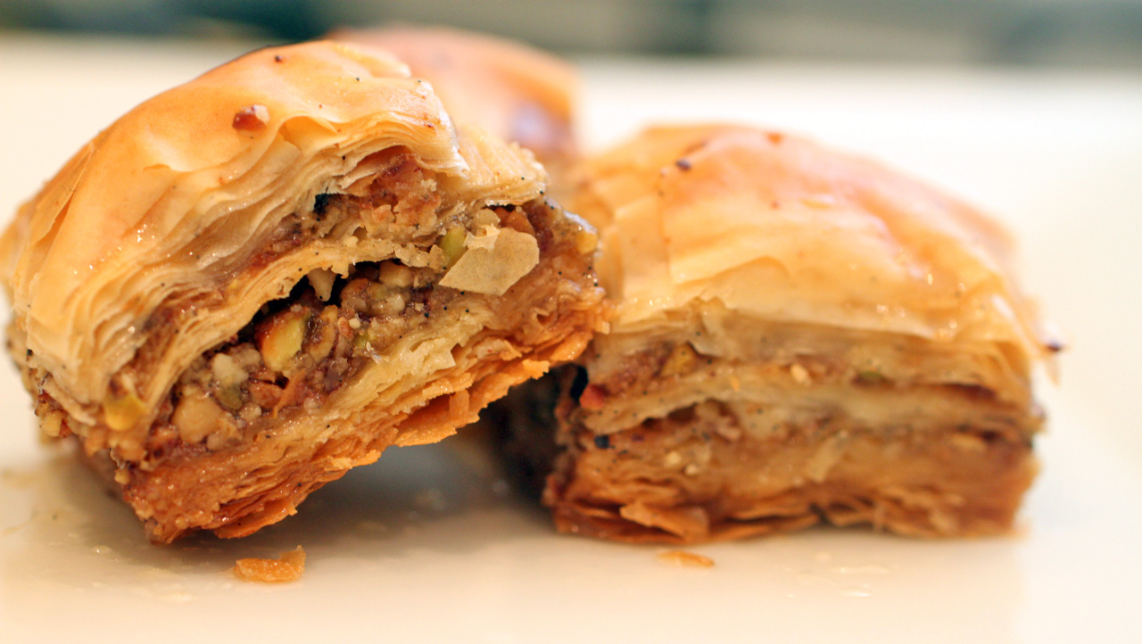baklava, Turkish food