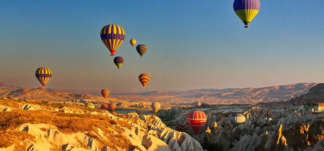 Hot air balloon, Cappadocia