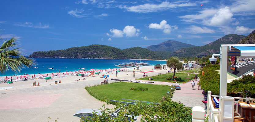 Beach in Oludeniz Turkey