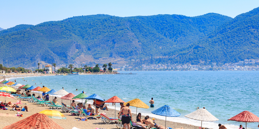 Beach in Turkey