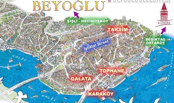 Beyoglu Map