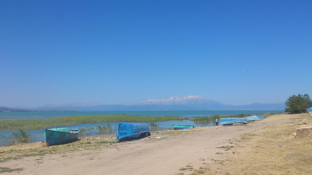 Beysehir Lake, Turkey