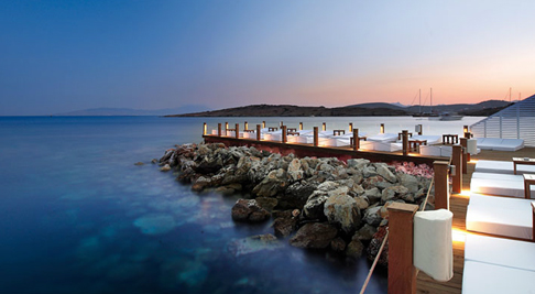 Beach club, Bodrum
