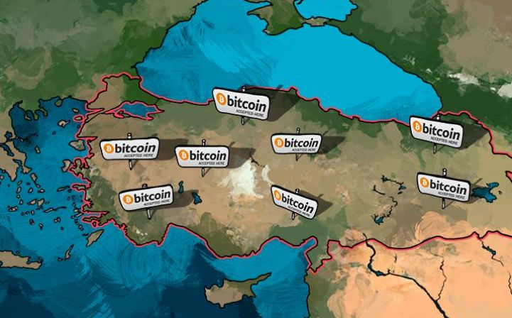 Despite skepticism from the government, bitcoin has been embraced by business all around Turkey.