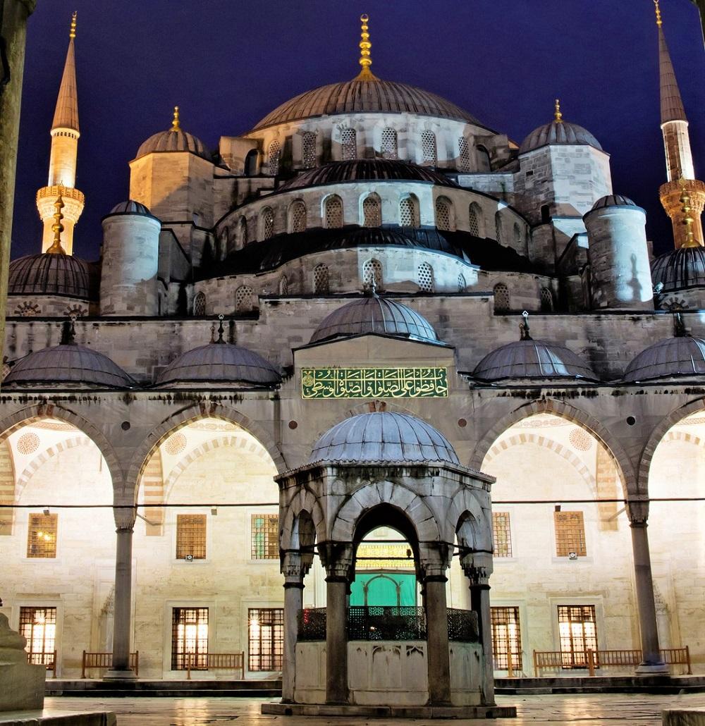 蓝色清真寺伊斯坦布尔