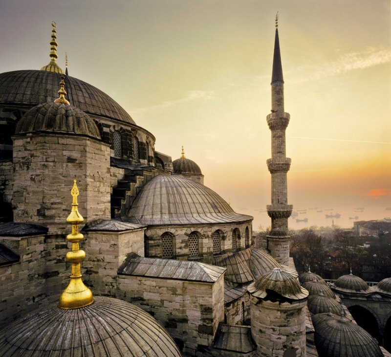 The Blue Mosque, a must-see on the tourist agenda