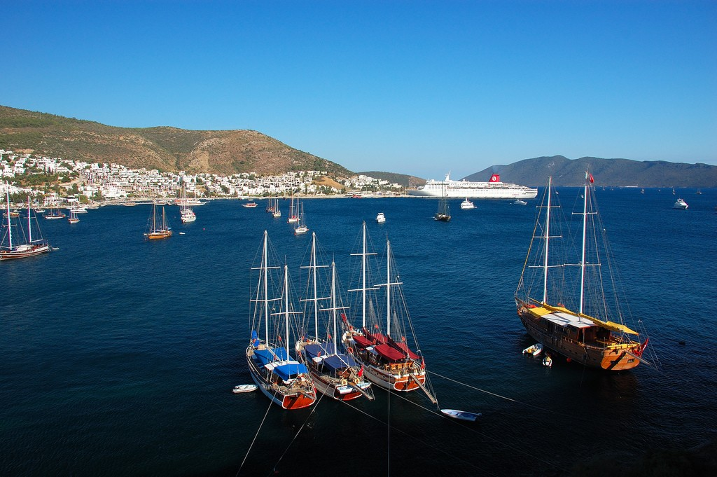 Huge tourist city to transform the Bodrum peninsula