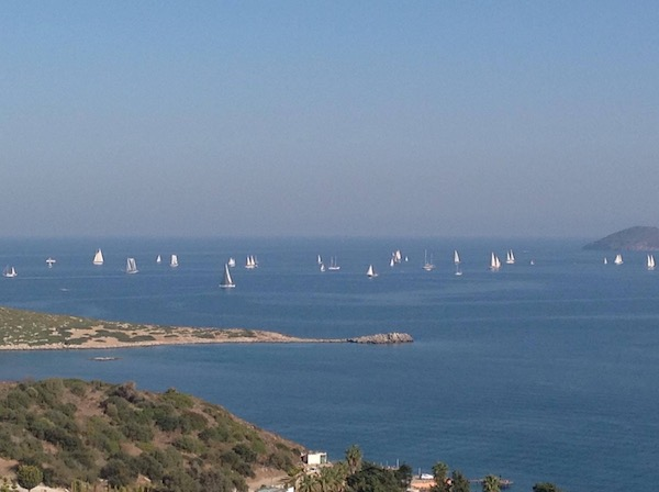 Bodrum: a view from Gumusluk