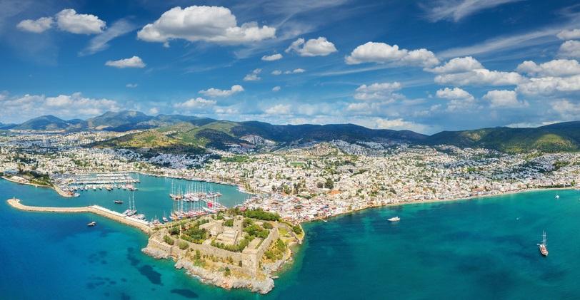 Bodrum peninsula Turkey