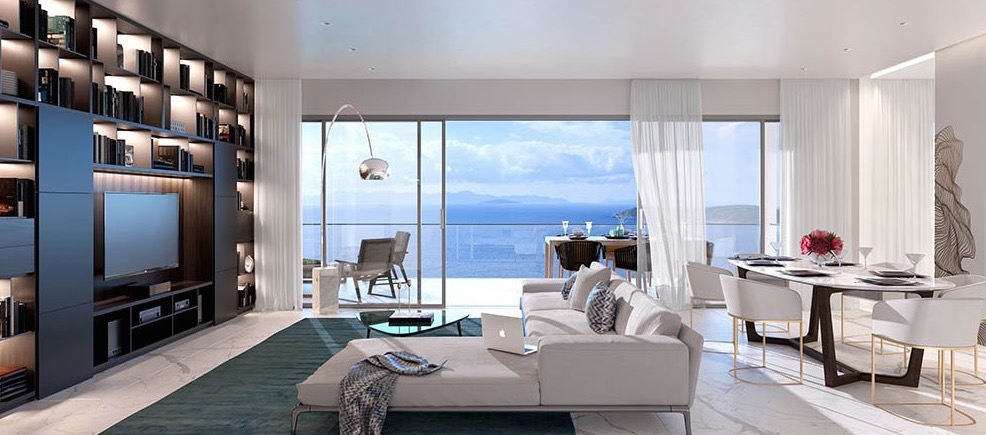 Sea view homes