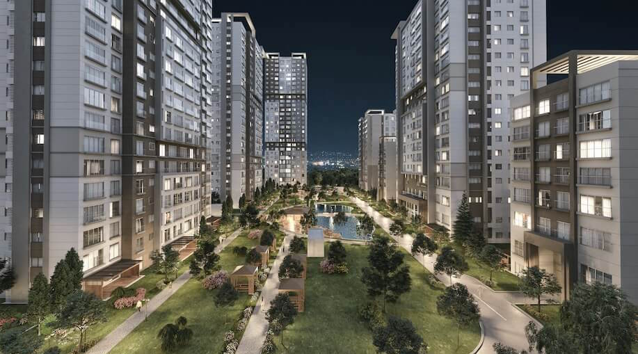 Bahcesehir apartment for sale