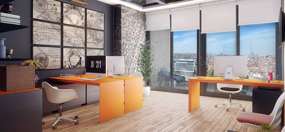 Offices in Istanbul