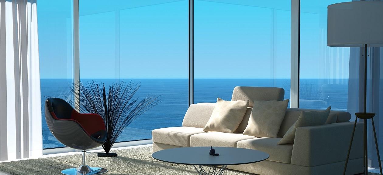 Дома с видом на море