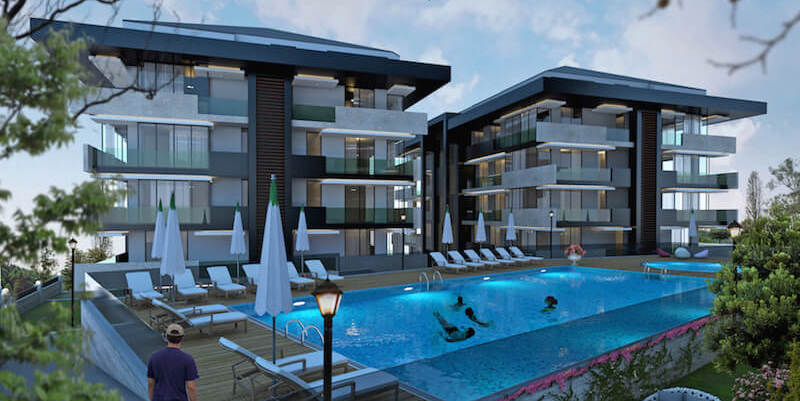 Tarabya flat for sale