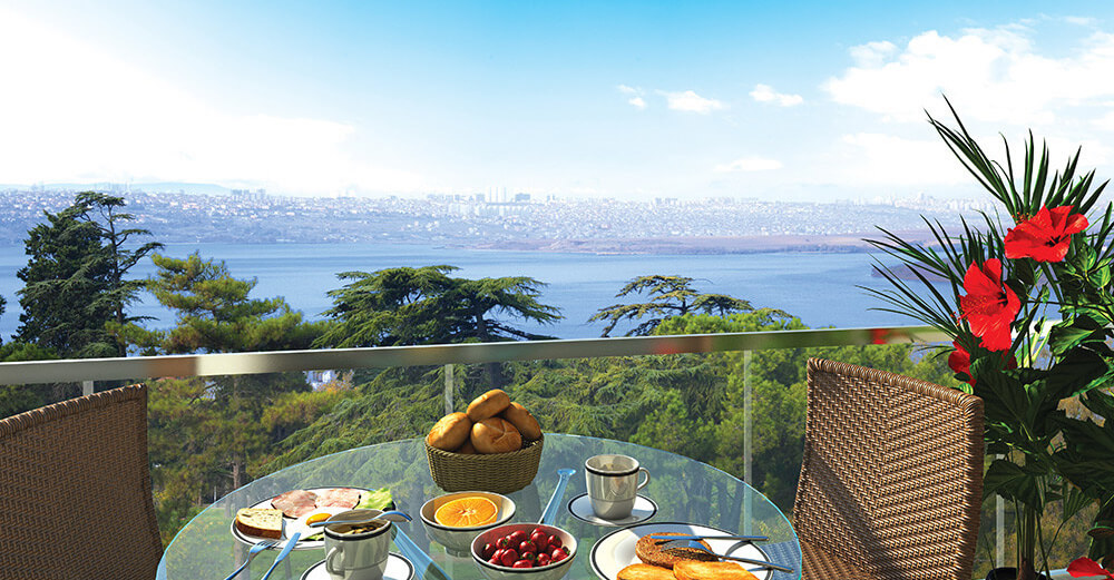Marmaray Lake luxury panoramic apartments for sale